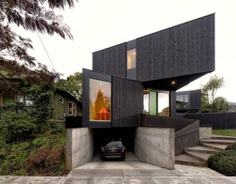Taft House - An Open Plan House Built Using a Prefabricated Modular System
