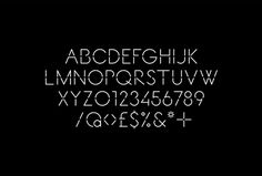 Decontoured by Bunch #typography #font