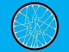 Dribbble - ArtCrank Poster 2011 by Jeremy Pruitt #artcrank #type #denver #bike
