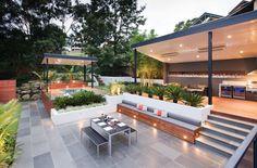 Spectacular outdoor design