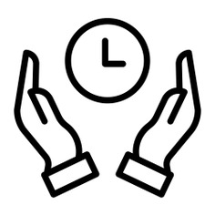 See more icon inspiration related to hand, time, save time, time and date, hands and gestures, savings, save and clock on Flaticon.