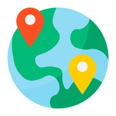 See more icon inspiration related to world, globe, earth, internet, pin, ui, maps and location, earth globe, earth grid, world grid, globe grid, placeholder, worldwide, interface, multimedia, signs and location on Flaticon.