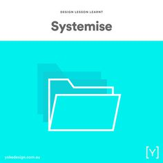6. SYSTEMISE & ORDER