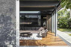 Contemporary Pavilion Residence with Linear Swimming Pool 6