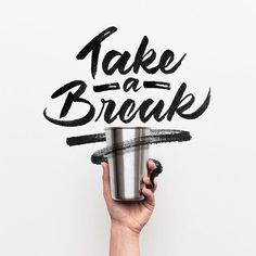 Take a break ☕️ - - Background by @andrewtneel on @unsplash - - #typespire #lettering #calligraphy #handlettering #typetopia #artoftype