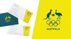 New Logo and Identity for Australian Olympic Committee #brand #corporate #sport #identity #system #guidelines #australia