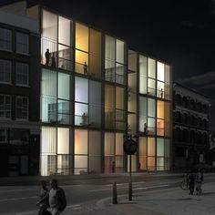 Dezeen » Blog Archive » MiLoft by RMJM #light #archietcture #facades