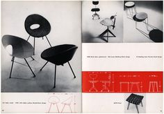Google Image Result for http://www.modernism101.com/images/knoll_chairs_04.jpg #cataloge #knoll