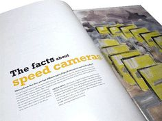 Magazine Layout and Typography Inspiration #inspiration