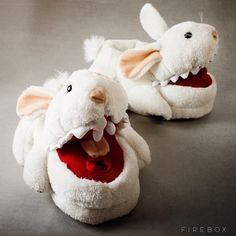 Limited Edition Monty Python Killer Bunny Slippers #slippers #gadget