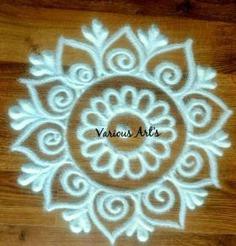 Kolam design rangoli