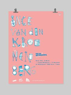 BOSQUE Estudio/Taller Kop Profilers - #music #instruments #lettering