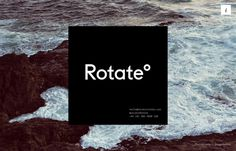 Rotate°, inspiration N°362 published on The Gallery in date September 2nd, 2015. #website