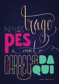 Vermelho on the Behance Network #poster #typography
