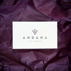 Andana Business Cards #branding