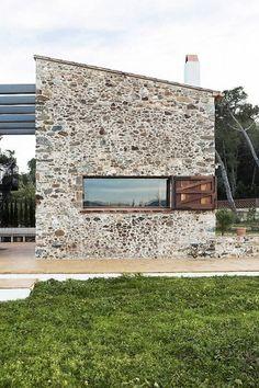 Architecture Photography: La Pallissa / Cubus - La Pallissa / Cubus (215170) - ArchDaily #architecture #house #stone
