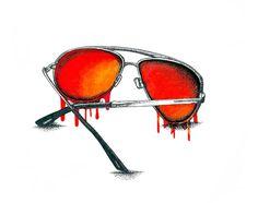 Hello, Summer #ink #illustration #pen #and #stipple