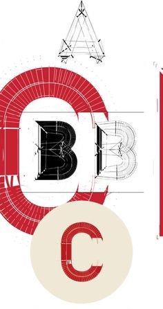 TYPE / DECONSTRUCT on the Behance Network #grid #design #graphic #typography