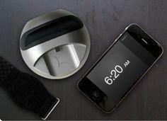 Lark Silent Alarm Clock #gadget