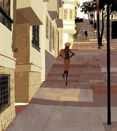 nhk.jpg (JPEG Image, 565x635 pixels) #perspectives #streets #illustrations
