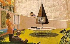 WANKEN - The Blog of Shelby White » The Illustration of Mid-Century Modern #illustration #mid #vintage #century