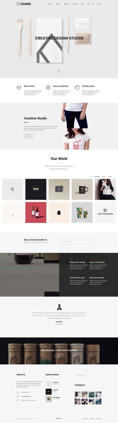 Cookie – Multipurpose Creative WordPress Theme