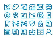 Forma & Co — Dell — Coporate Icons #icon #design #graphic #icons #stroke #set #illustration #single