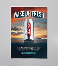 ATOM - Jimmy Gleeson Design #gleeson #design #jimmy #poster #atom