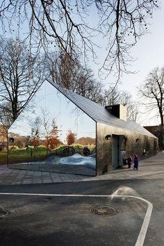 Mirror House, Copenhagen | MLRP Arcitecture Art. #copenhagen