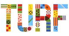 tumblr_llputnS0ta1qjfd19o1_500.jpg 500×263 pixels #bright #quilt #lettering #turf #experimental #vibrant #colorful #patchwork