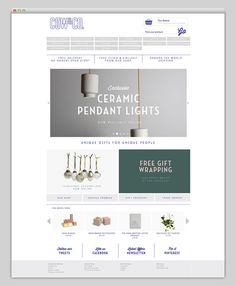 Cow&Co #website #layout #web