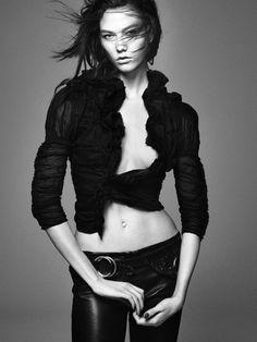 Karlie Kloss by David Sims for Vogue Paris