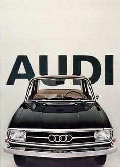 Audi 60 Poster | Design.org #typography #advertising #saudi #car