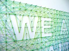 We Are All Part of the Same Thing #3d #typeface
