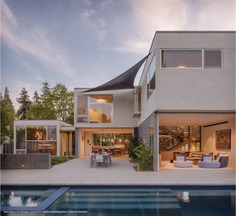 Palo Alto Contemporary House by Bjørn Design