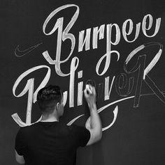 Nike Chalk Murals on Behance