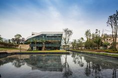 DRESSING THE TERRITORY: NANSHAN CLUBHOUSE BY SPARK #architects #architecture #park