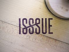 ISSSUE stamp by Wheelhouse