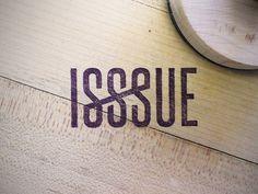 ISSSUE stamp by Wheelhouse #design #graphic #identity