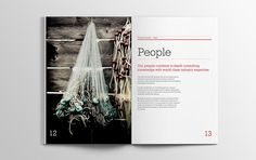 Whitespace Advisory brochure #brochure #spead #print #design