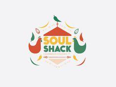 Soul Shack Logo #logo #branding #chicken #fast food #soul #lucas #shack #jubb #jerk #jamacian