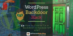 How To Find & Fix A 🚪 Backdoor In Hacked WordPress Site?