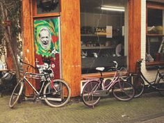 Amsterdam Jordaan | Flickr - david walby #graffiti #walby #bike #amsterdam #david