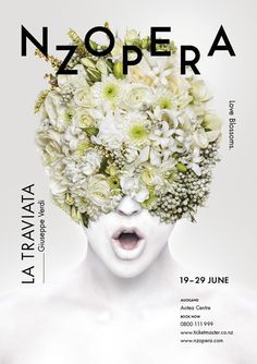 New Zealand Opera – La Traviata Poster