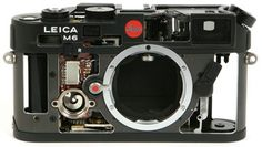 Inside the Leica M6 Rangefinder #camera #leica #photography #equipment
