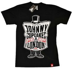 Johnny Cupcakes London Exclusive T-shirt | The Daily Street #print #illustration #typography #tee