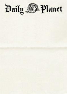 Interesting Letterhead Designs   Letterheady #comics #branding #daily #movies #letterhead #planet #superman
