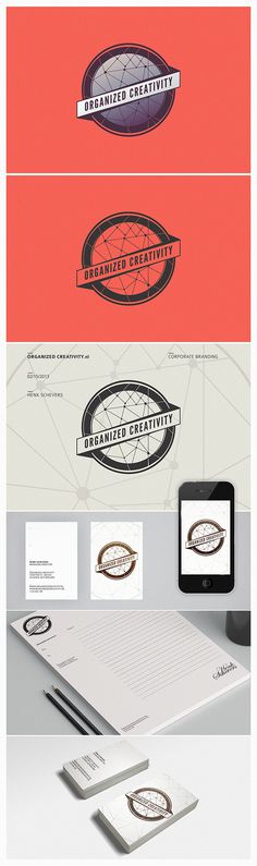 Organized Creativity Corporate Branding - Netherland #business #branding #minimalize #card #design #simple #logo #trend