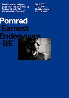 The Future Sound — Pomrad Poster