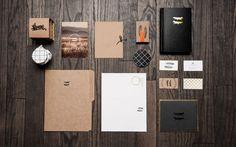 5 #identity #branding #stationery